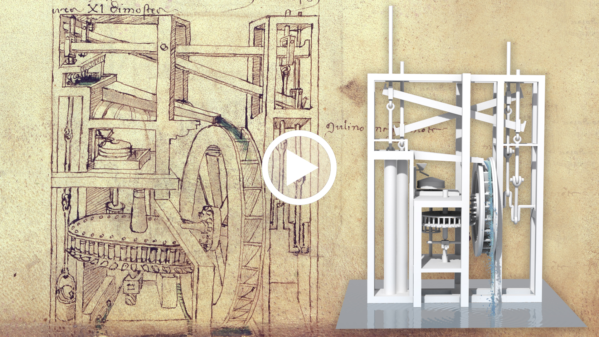 video Francesco di Giorgio Martini, Recirculation mills